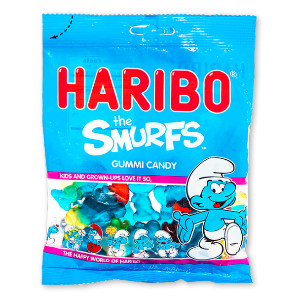 HARIBO The Smurfs Share Size Bag